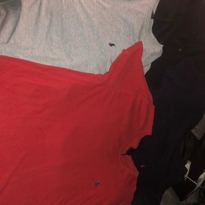 4 polo t shirts
